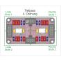 USP - Festwert-Filter Modul - Schema als Tiefpass