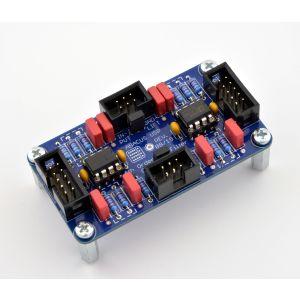 USP - Festwert-Filter Modul - Einbaufertiges Modul - Hochpass 4. Ordnung