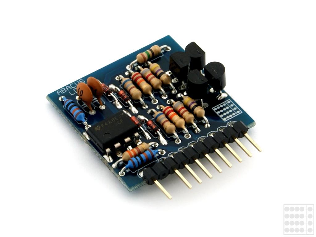 Lineartreiber-Modul - ein Paar dieses ABACUS-Line-Verstärkers macht einen Lineausgang lastunabhängig