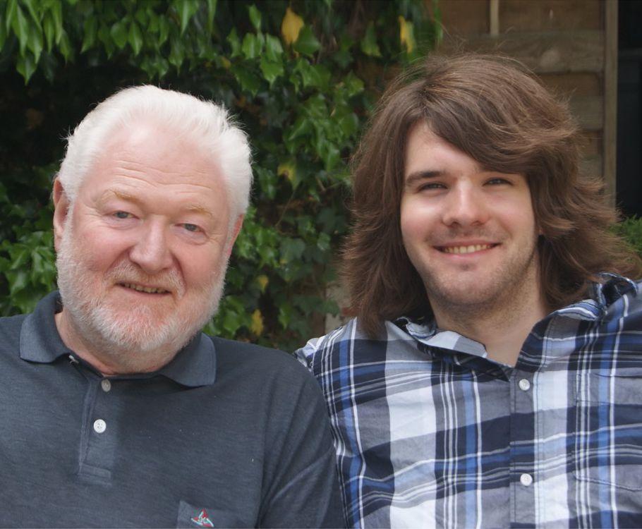 Vater und Sohn - Karl-Heinz und Hanno Sonder