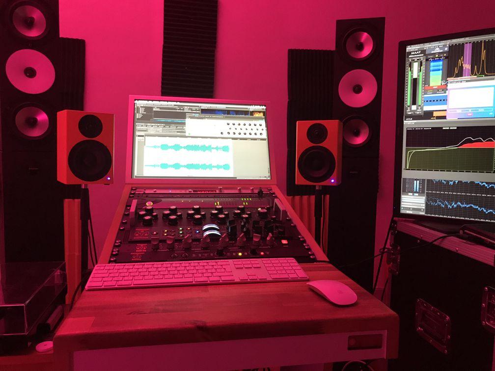 C-Box 3 im Studio bei Retroengineering