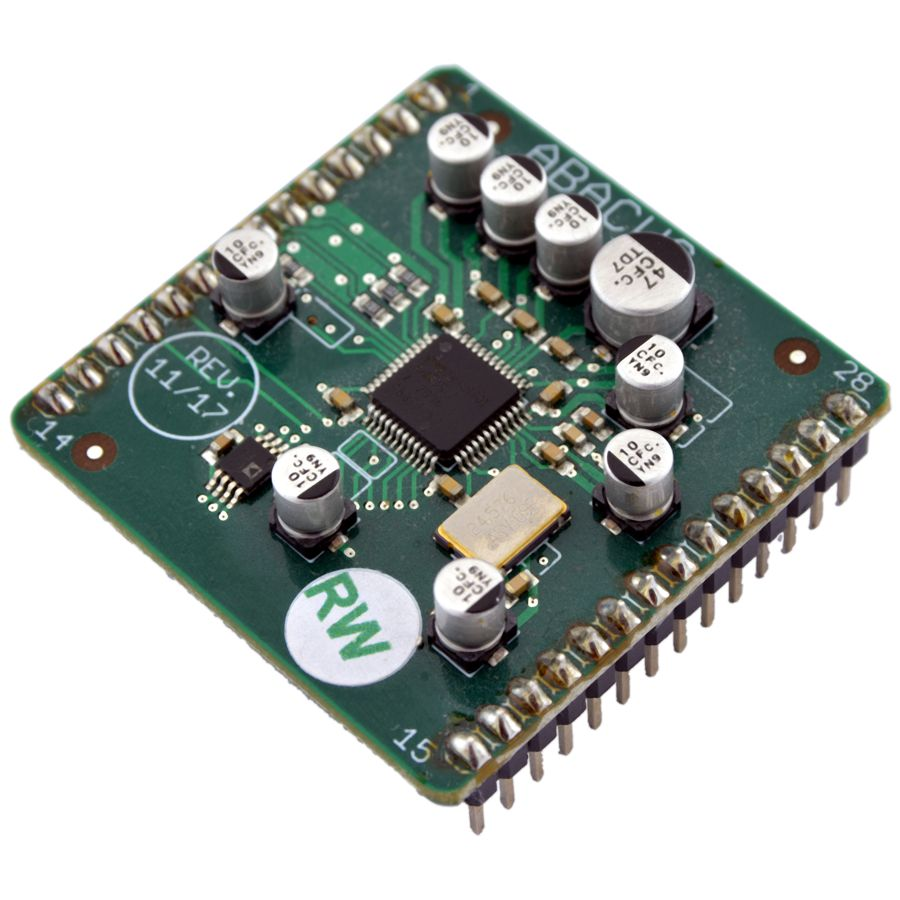 ABACUS DSP-Modul, Chip, Taktgeber und Peripherie