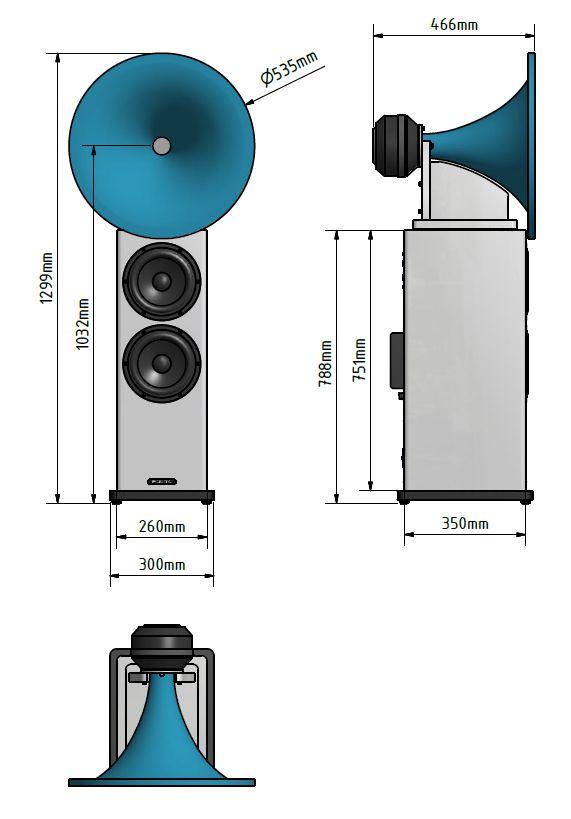 Hornsystem Abmessungen
