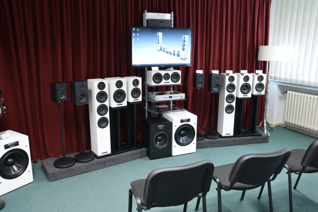 ABACUS Kleiner Showroom - C-Box- und Cortex-Serie