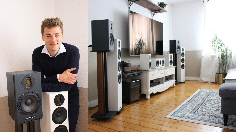 Lucas Dehnert und sein Vorführstudio