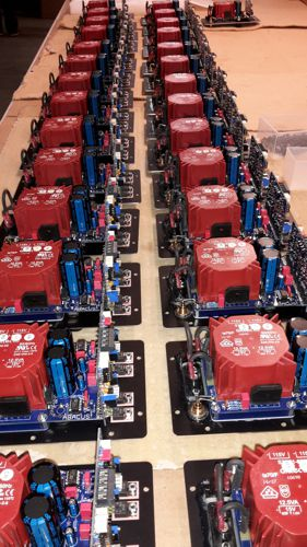 C-Box Elektronik in der Produktion
