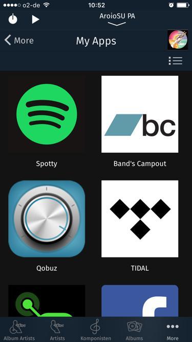 "App ""iPeng 9"" auf iPhone"