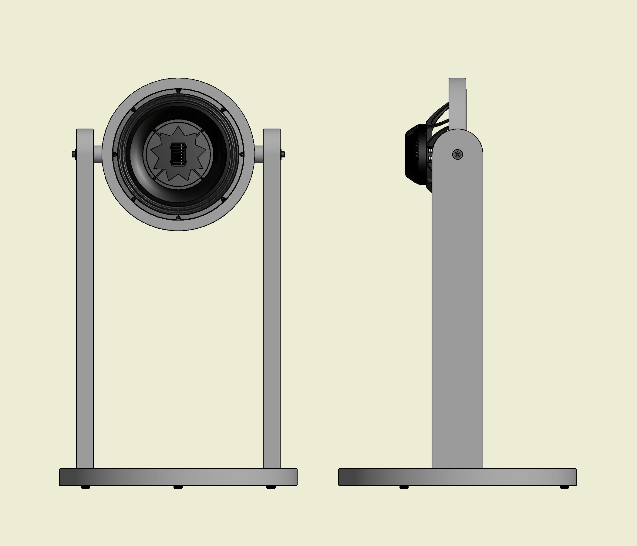 Tripoint Wandler Abmessungen CAD-Zeichnung