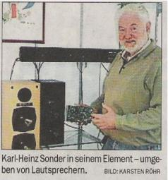 Karl-Heinz Sonder im NWZ-Interview