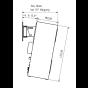 Cortex 11W - Anwendungsbeispiel mit Wandhalterung