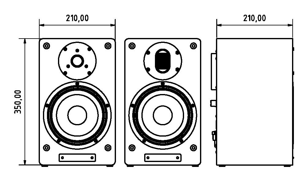 A-Box 5 Abmessungen in mm