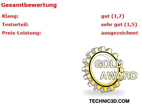 Testurteil Technic3D