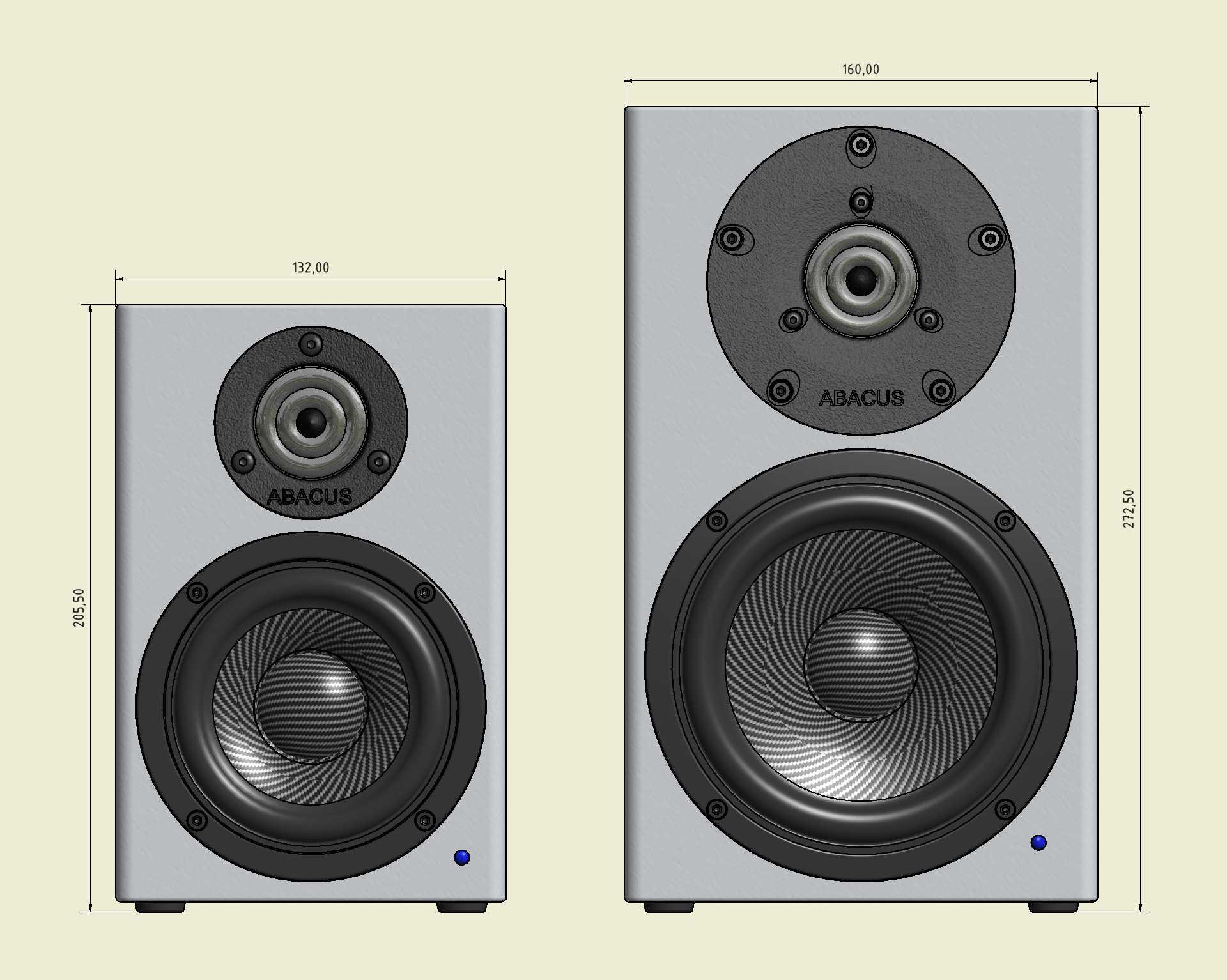 C-Box 3 und 4 - CAD-Grafik