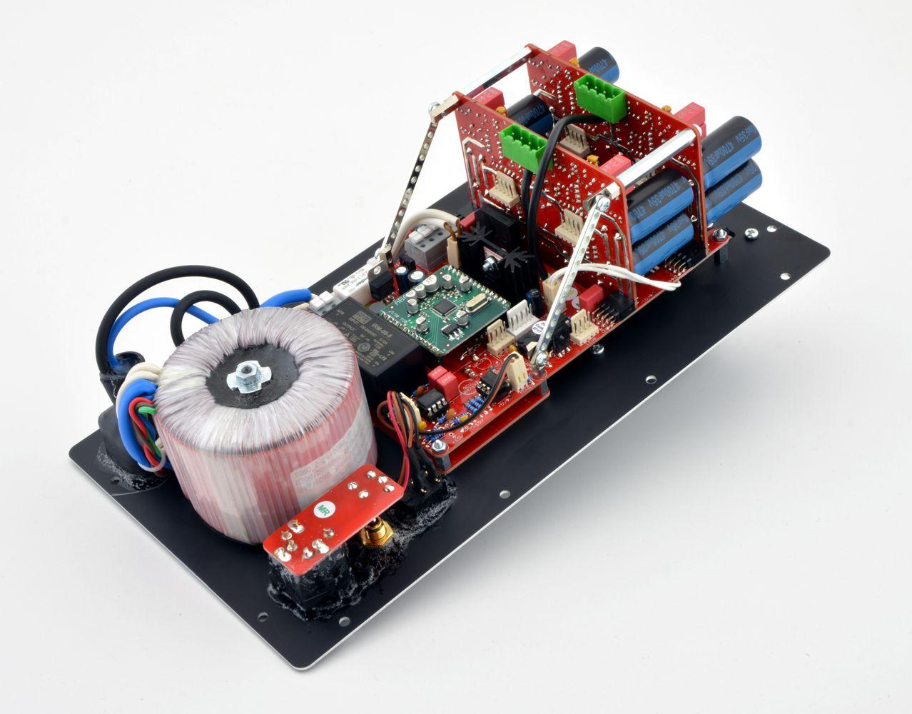 Elektronikrückwand der Cortex - 4-Kanal-Version