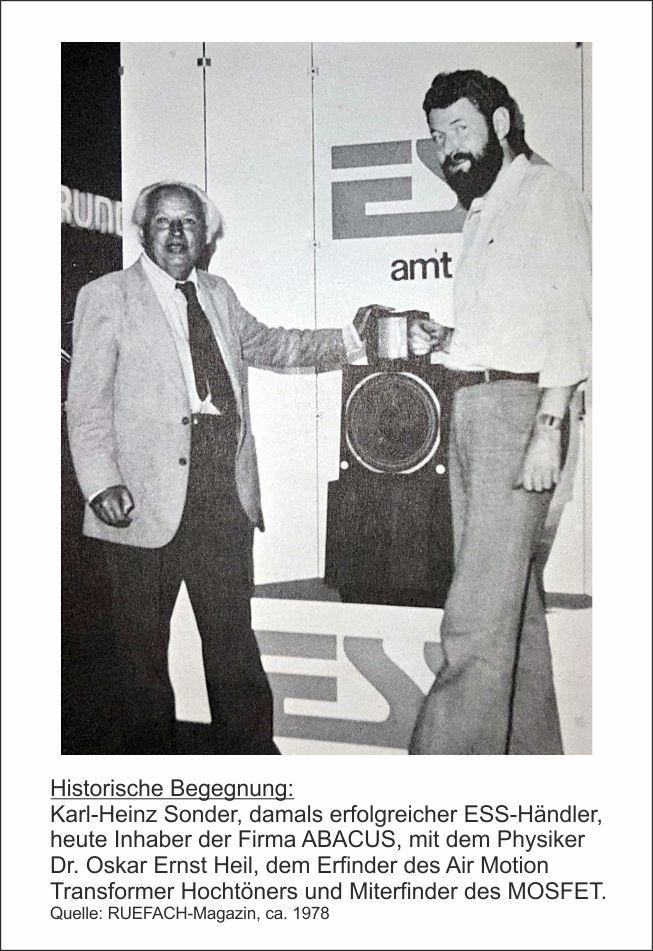 Karl-Heinz Sonder und Oskar Heil