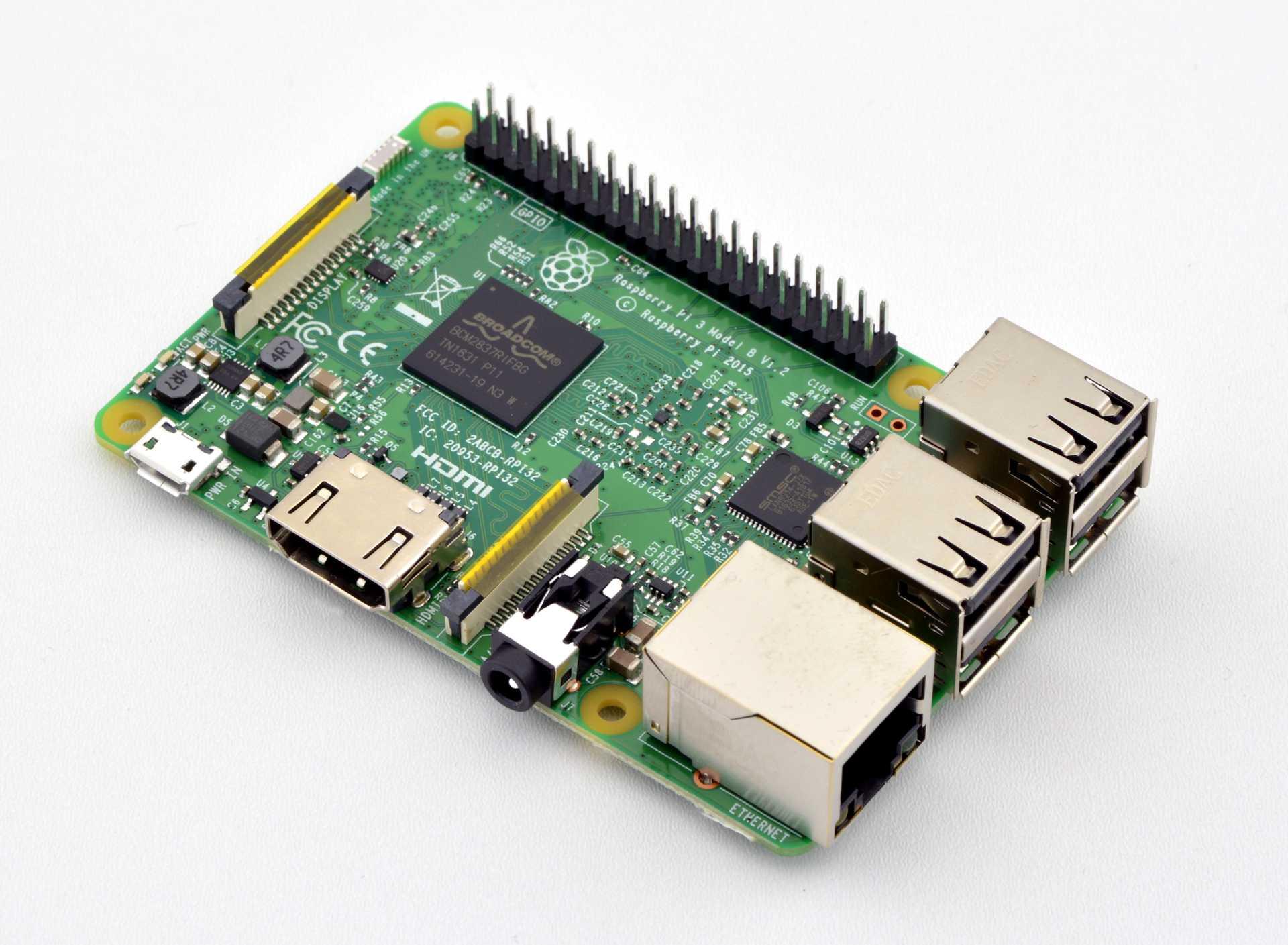 RaspberryPi 3 - Mini-Computer